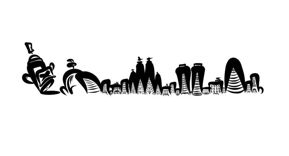 Barcelona by Dhemart gracias por este dibujo!!🤘🤘🤘🤘 Diseño Desing Streetart Graffiti Graffitiart Art Skyline
