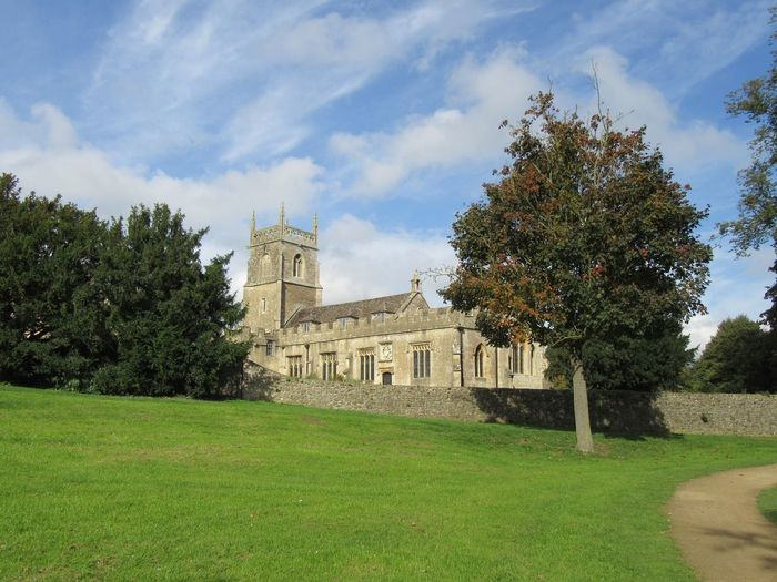 Architecture Built Structure Building Exterior Lawn History LydiardPark Swindon St Mary Church Religion Christianity