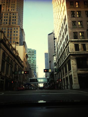 City Taking Photos