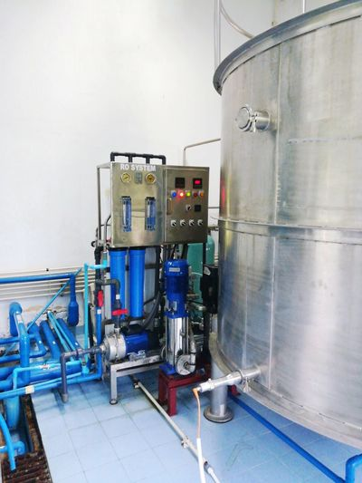 Industry Equipment Factory Business Finance And Industry Manufacturing Equipment Pipe - Tube Industrial Equipment Technology No People Indoors  Water System RO WATER Water Supply