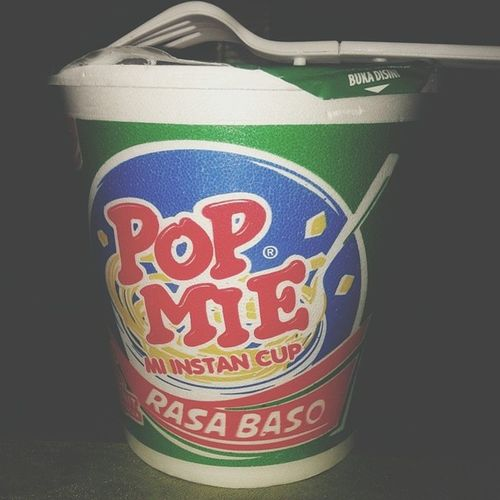 One of my favorit... yeah Popmie Noodlecup