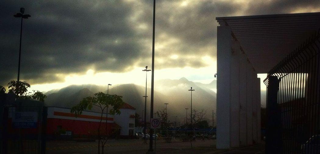Sunrise Puertovallarta Macroplaza Clouds And Sky Urban