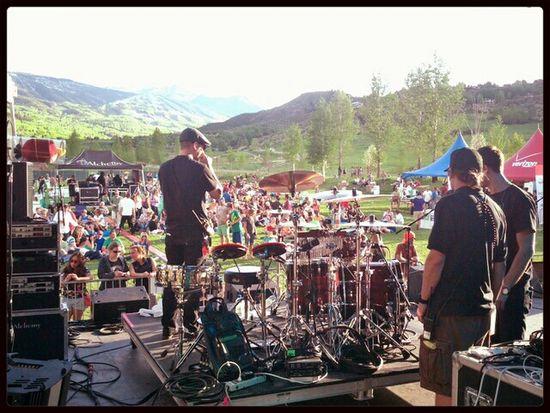 Backstage Drums