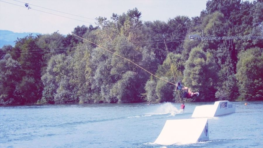 Wakeboarding Water Slides Backflip Water_collection