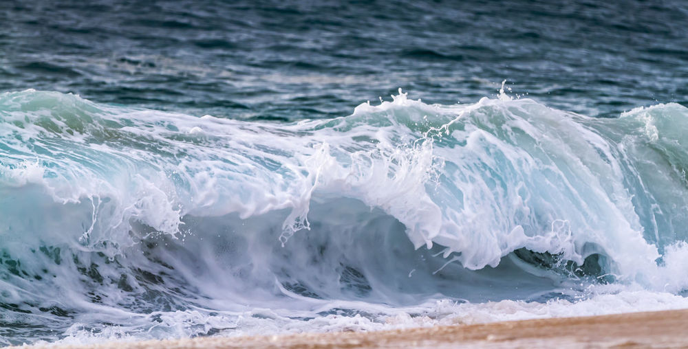 Close-up of wave in sea