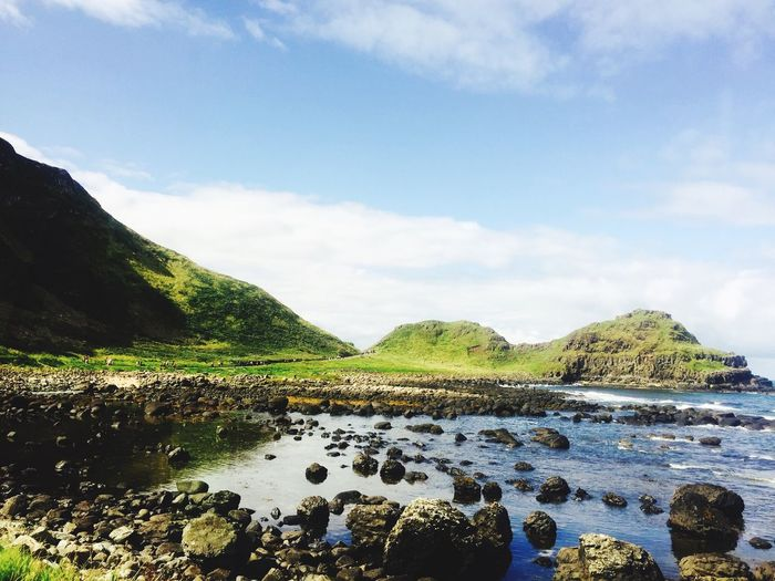 ʄ๏гty รհɑժєร ๏Ŧ gгєєղ | Northern Ireland | before the Giant's Causeway | Ireland | Beautiful Country | Green | Coast | Sea | Look I know it's Sunny but it's Not Fake | I Swear | 2016 | Traveling | Infiniteseas Nature | The Great Outdoors - 2017 EyeEm Awards BYOPaper! Sommergefühle
