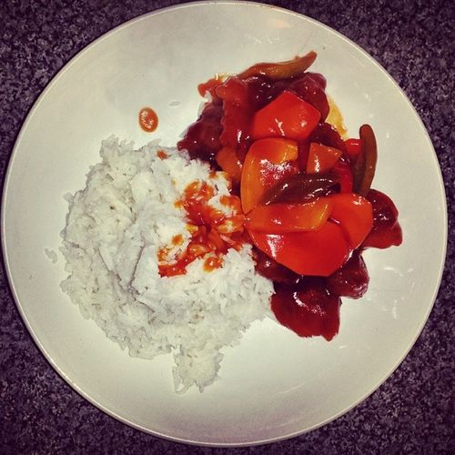 PANDA'S SWEET N SOUR PORK Sweetandsourpork ImaBeATVChefOneDay Chefwannabe Lunchtime LetMeCaterToYou Igers IgersLondon SomersTown