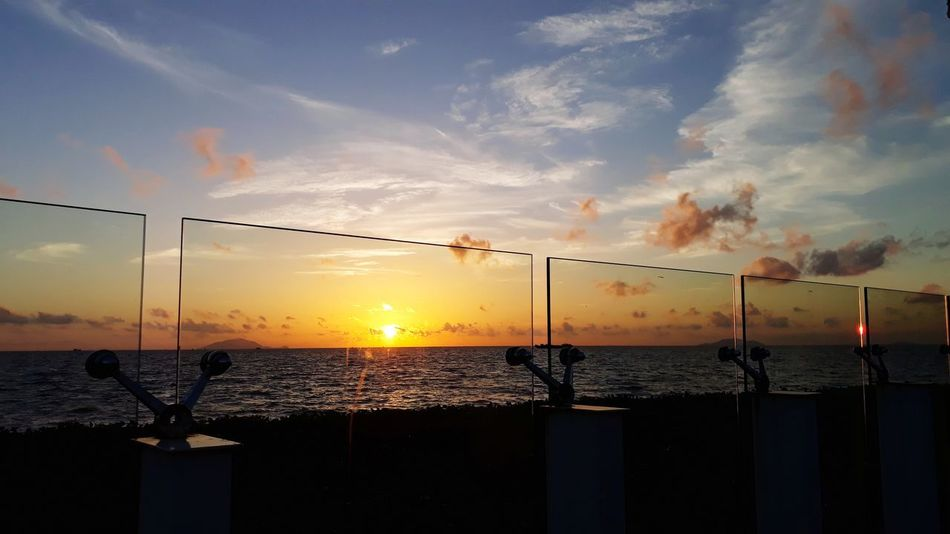 Beach Volleyball Sunset Water Sport Silhouette Soccer Sky Cloud - Sky Orange Color Dramatic Sky