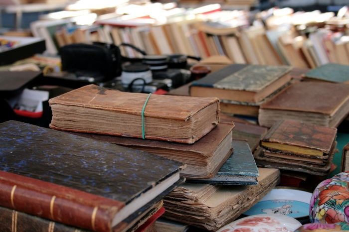 Wood - Material Indoors  No People Day Close-up Book Old Books Market