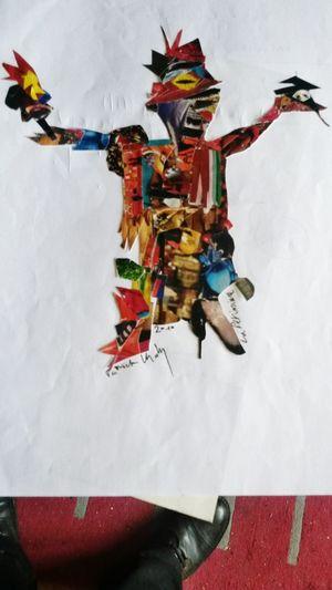 La marionnette. Papierschiff Hi!
