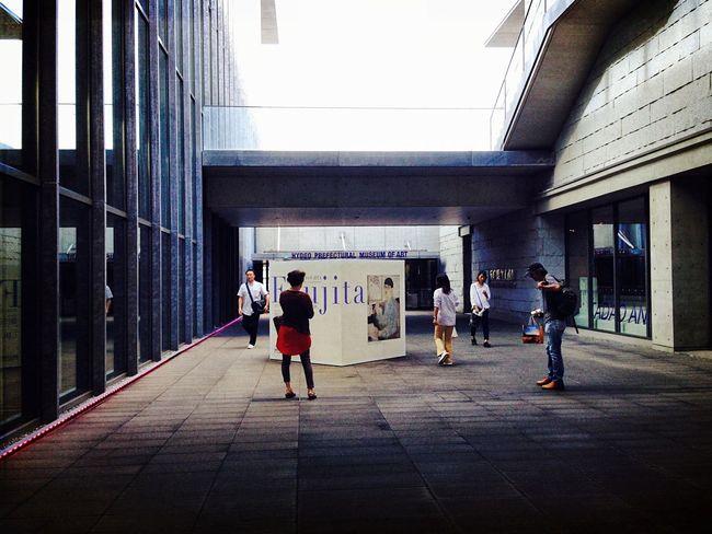 Hyogo-prefectural-museum-of-art 兵庫県立美術館 行きたかった 作品展 ❤︎ 芸術の秋 Leonard-fujita Autumn2016