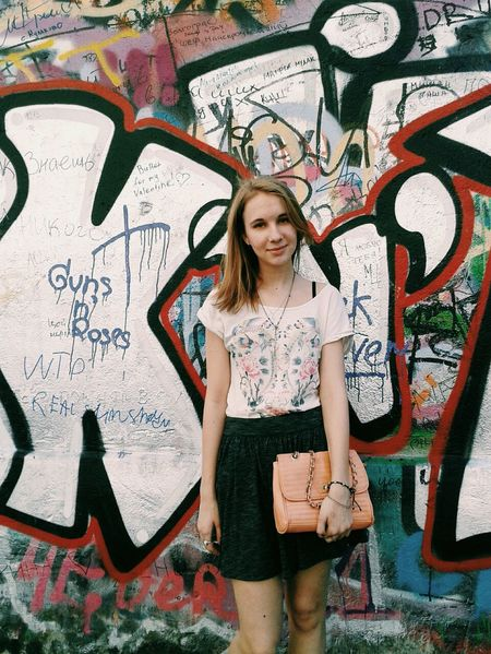 Girl Today's Hot Look Street Style Taking Photos