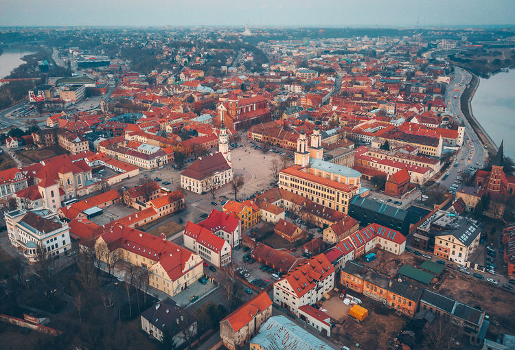 Kaunas old town Aerial Shot City DJI Mavic Pro DJI X Eyeem Drone  Old Town Aerial Aerial View Architecture Building Building Exterior Built Structure City City Life Cityscape Crowd Crowded Day Drone Photography High Angle View Kaunas Old Town Mavic Mavic Pro Nature Outdoors Residential District Roof Sky Spring Sunset Town TOWNSCAPE