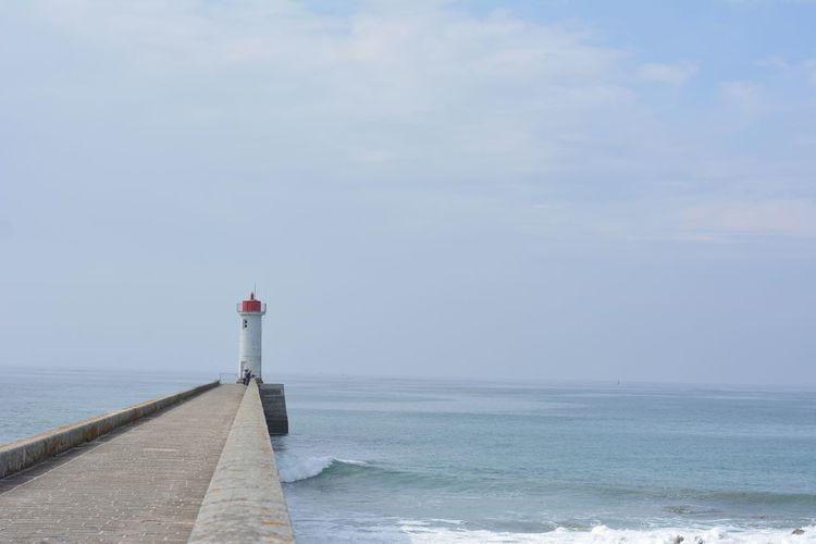Lighthouse In Sea