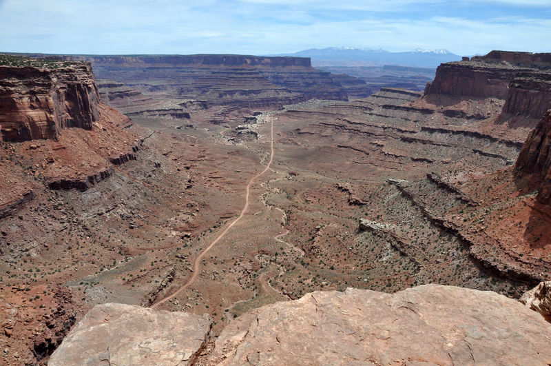 Rock Formations At Dead Horse Point State Park