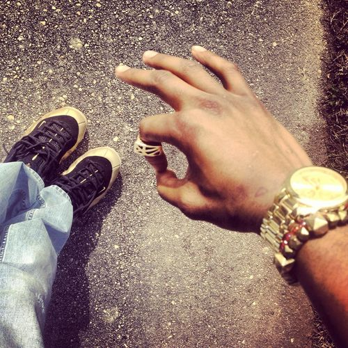 In My Gold Posites Ready For A New Life Im Ready For The Fame & Riches