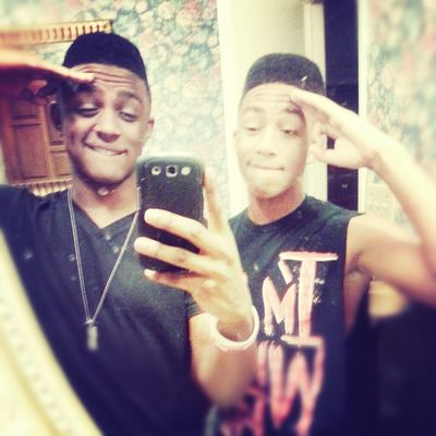 Me & My Bro With The New Cut.