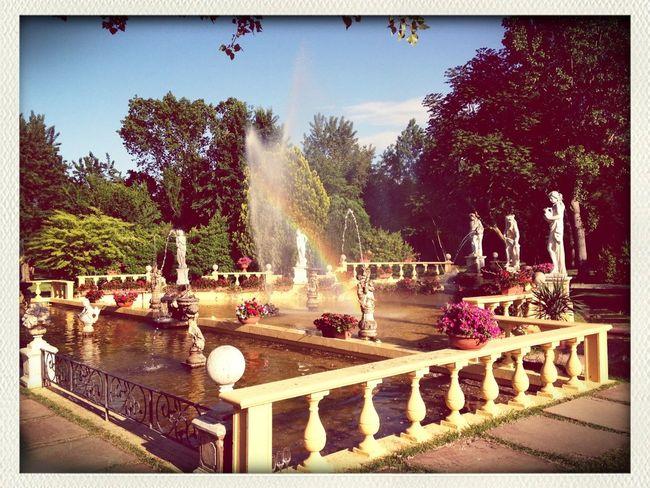 Rainbow Wedding Party Fountain