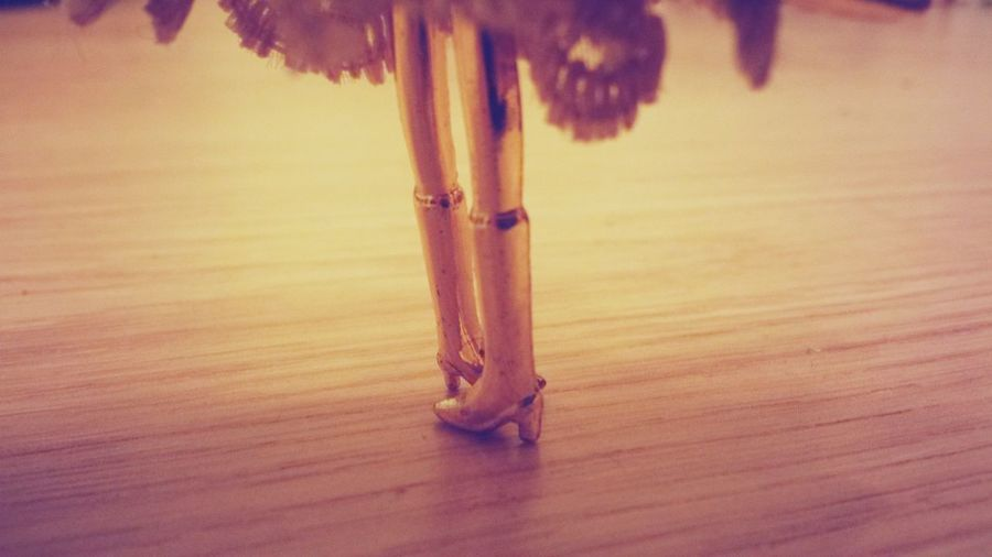 A doll.....