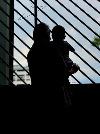 Almighty's priceless gift Love Chilling Baby Grandpa Family Men