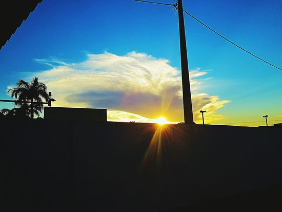 Streetphotography Streetnature Sunset And Clouds  Jehovahtheartist Justamazing