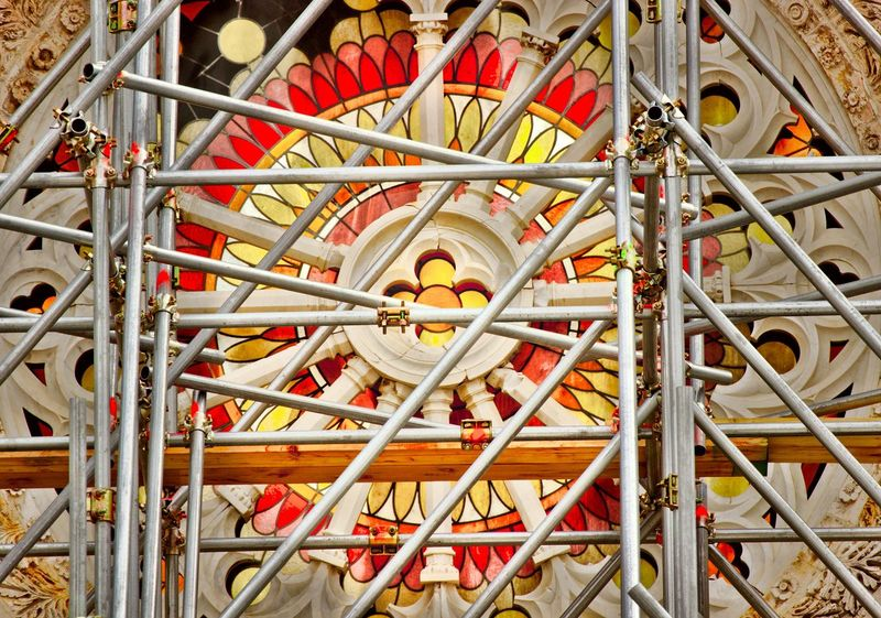 Architecture Close-up Day Duomo Earthquake No People Norcia Outdoors Rosette