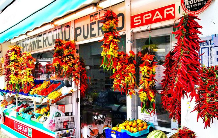 Scharfe Farben Traveling PalmadeMalllorca