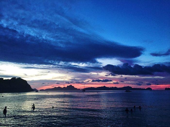 Las Cabañas Water Sky Cloud - Sky Beauty In Nature Sea Scenics - Nature Sunset Land Idyllic Outdoors Beach Nature Tranquility