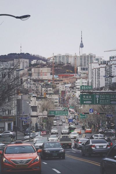 Landscape Cityscapes Seoul N Seoul Tower (NamSan Tower) Streetphotography