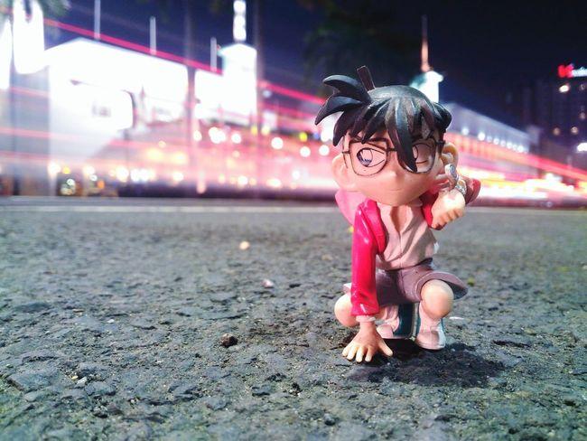 Detectif Conan Toys Toysphotography Outdoors Cheerful Lifestyles Night Zenfone Zenfonephotography Zenfone_id ZenTalkID Zenfonegraphyindonesia