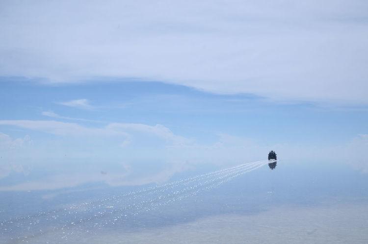 Eyem Best Shots Nikon D300 Bolivia Uyuni Uyuni Salt Flat Nature Car Land Cruiser Sky