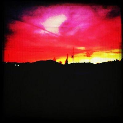 Love Spring School #sunset