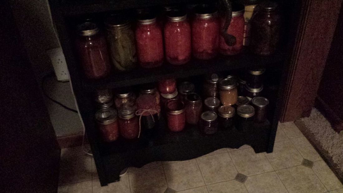 canning fot the winter hell ya