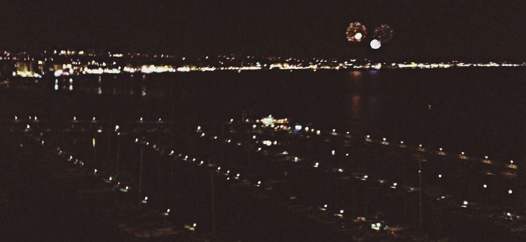 Riviera romagnola Fireworks Goodnight Hello World