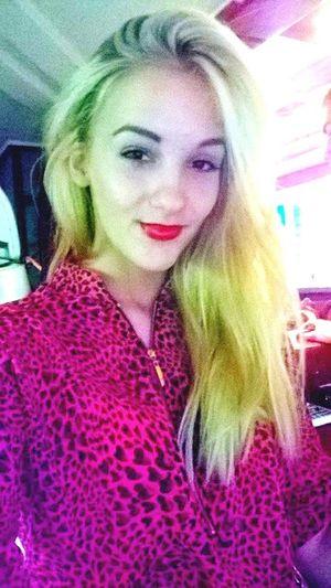 Redlips Blonde Girl Selfie✌ Blondyneczka Polishgirl Smile ✌ Hi! That's Me Blondie Blonde ♡