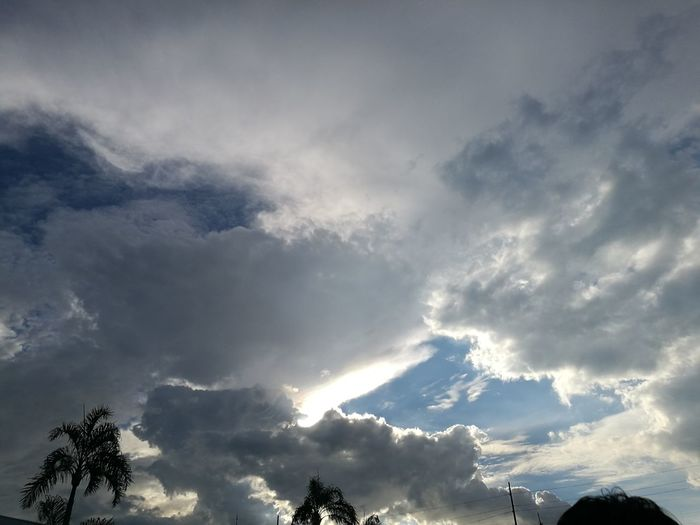 Cloudy Dramatic Sky Nature