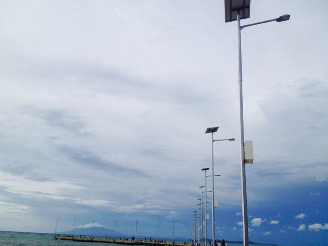 Sea And Sky Clouds And Sky Holiday LifeInIndo Di Anyer ^^