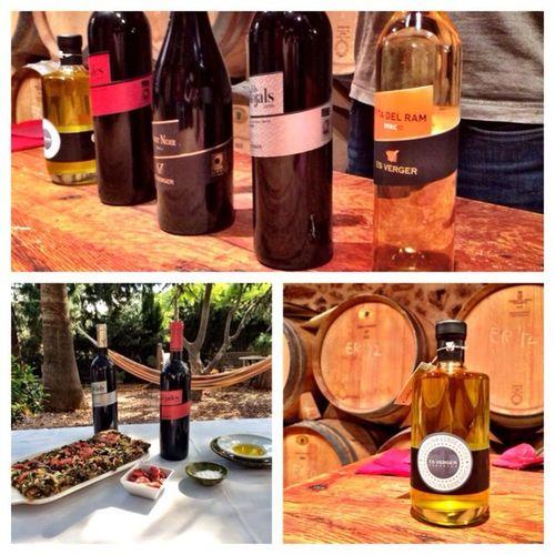 De cata de vinos y aceite en un ambiente inmejorable Venyllevateelmomento