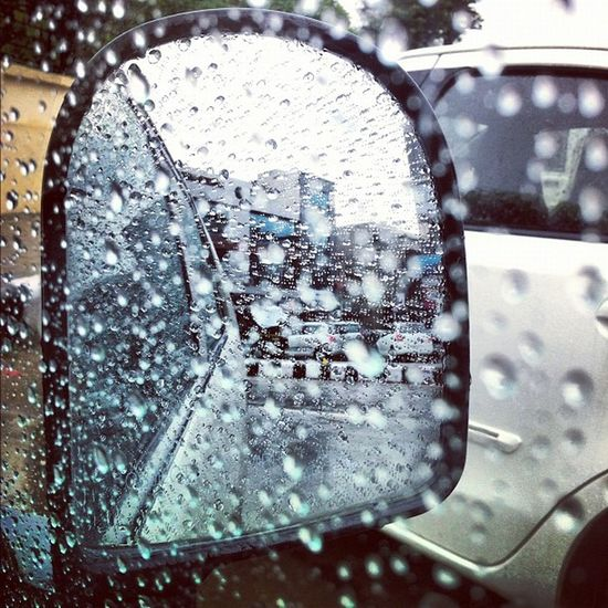 Rain Iphonography