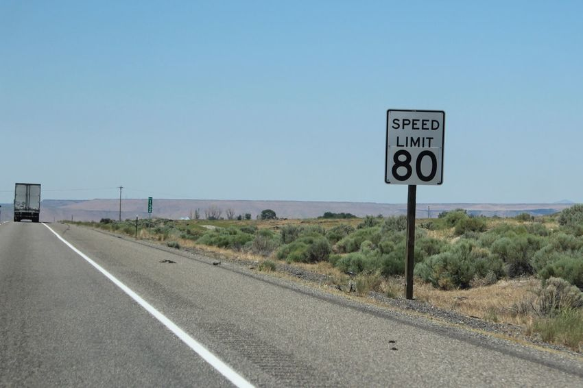 80 Drive Fast... Fast Interstate Views Road Sign Roadtrip Roadtrip Signs Sign Speed Limit Warning Sign
