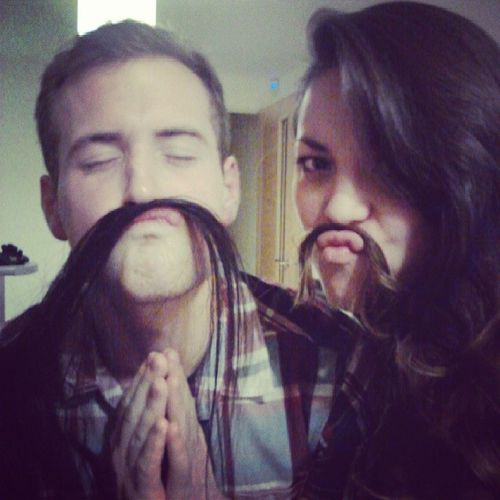 Just rediscovered this gem on my phone @chantalmbee!!! Missyou Asianpersuasion Sexymoustaches Toomuchhair