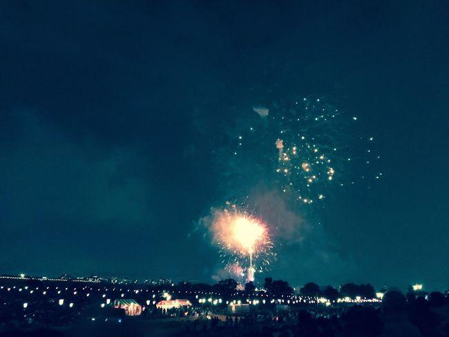 煙火 花火 はなび Fireworks Nightphotography People
