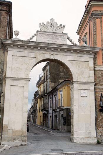 port saint john in Guardiagrele (Abruzzo-Italy) Architecture Chieti City Guardiagrele Italian Italy No People Portal Stone Town Village
