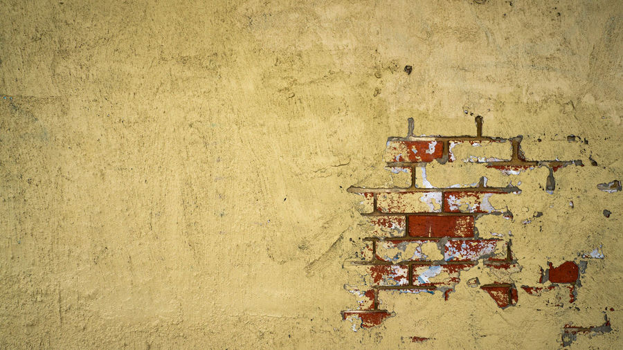 Cracked Wall -