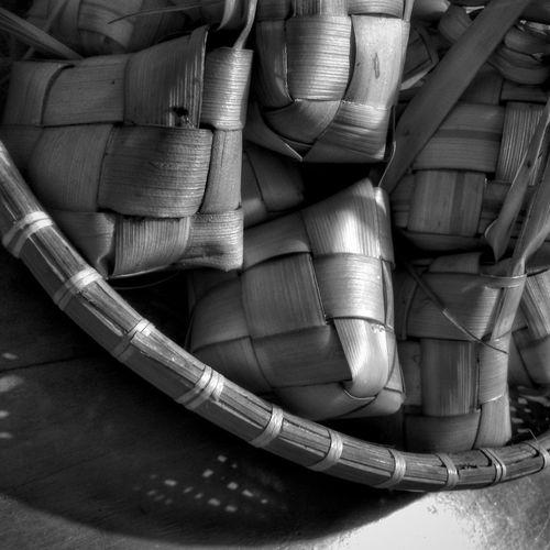 Ketupat... EyeEm EyeEmIndonesiaCommunity Black And White IPhoneography EyeEm Indonesia Iphone 6 Plus Monochrome Photography