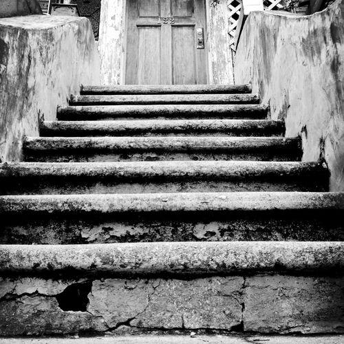 Stairs Blackandwhite Door Streetphotography