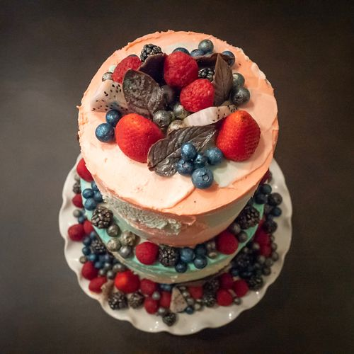 Homemade masterpiece. Bakery Gourmet Food Berry Fruit Food And Drink Fruit Freshness Dessert Indulgence Sweet Raspberry Sweet Food Table Baked Cake Blueberry Temptation Ready-to-eat No People Strawberry