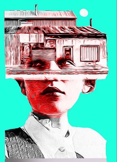 Rusty Afternoon Splinters Of Reality Photographic Approximation Facial Experiments Forgotten Dreams New Nightmares