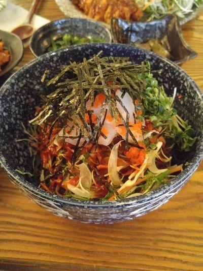 참치 회덮밥
