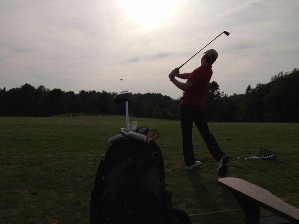 Conor. Golfing Hermitage Pennsylvania Family